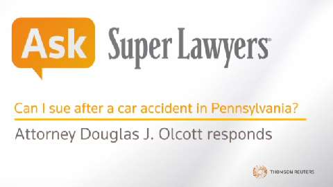 Douglas J. Olcott, Car Accident Attorney- Super Lawyers