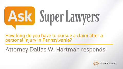 Dallas W. Hartman, Injury Claim Attorney- Super Lawyers