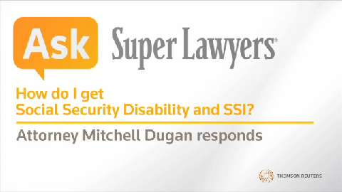 Mitchell Dugan, Pittsburgh SSD Attorney