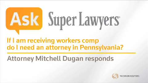 Mitchell Dugan, Pittsburgh Workers' Comp Claim Attorney