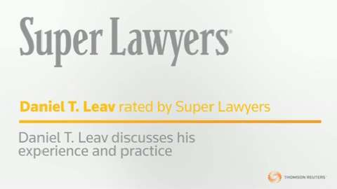 Dan Leav , New York Medical Malpractice Attorney - NY Super Lawyers