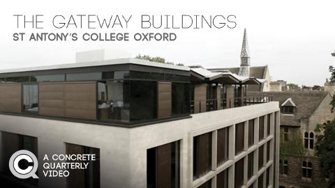 The Gateway Buildings St Antonys College Oxford Information
