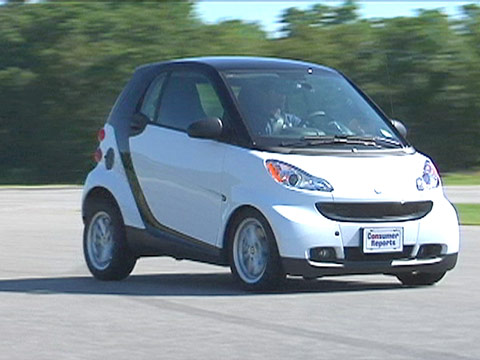 Smart Fortwo 2008 2014 Road Test