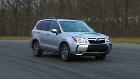 2015 Subaru Forester Road Test Consumer Reports