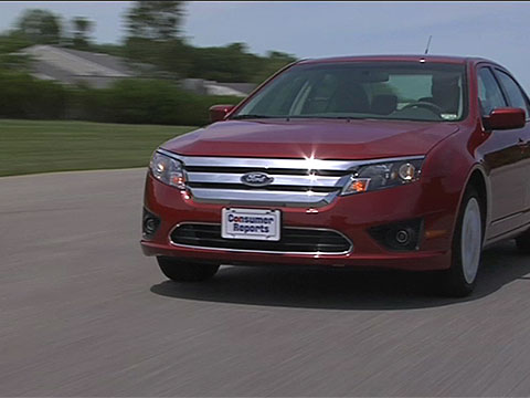 Ford Fusion 2010 2012 Road Test