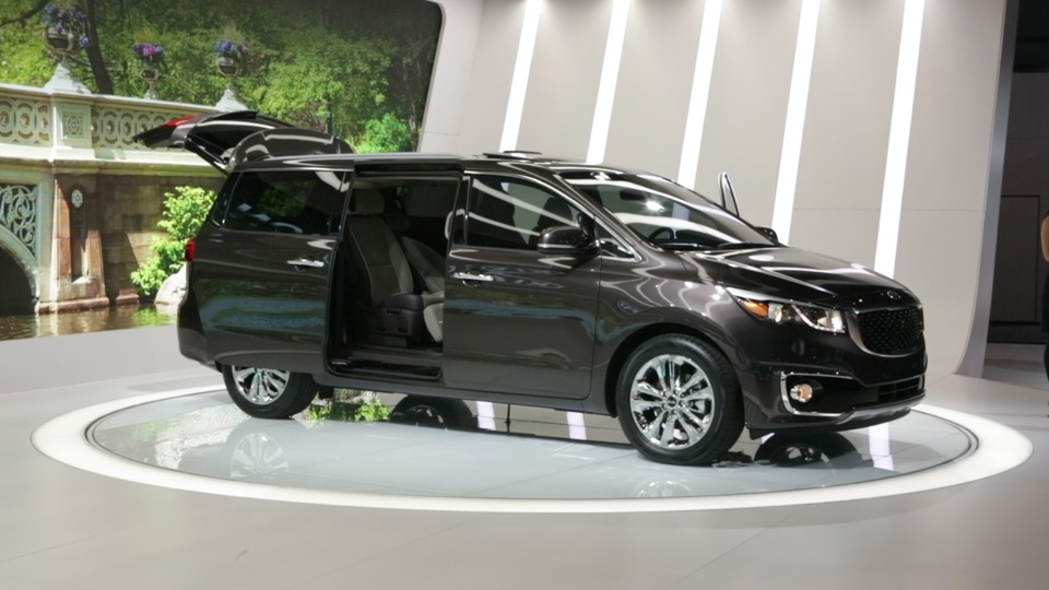 2015 Kia Sedona Preview