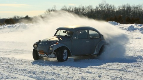 Consumer Reports Jalopnik Test Track Snow Day