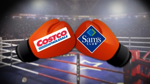 Costco vs  Sam's Club