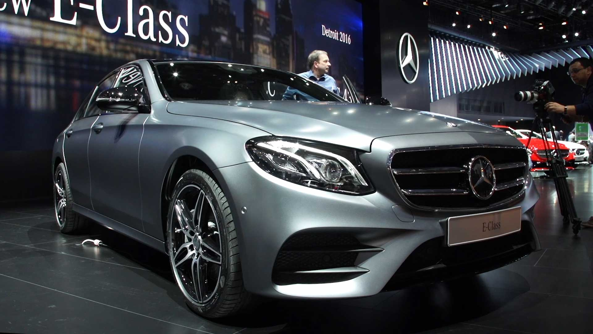 2017 Mercedes-Benz E-Class Grows Larger and Goes High Tech ...