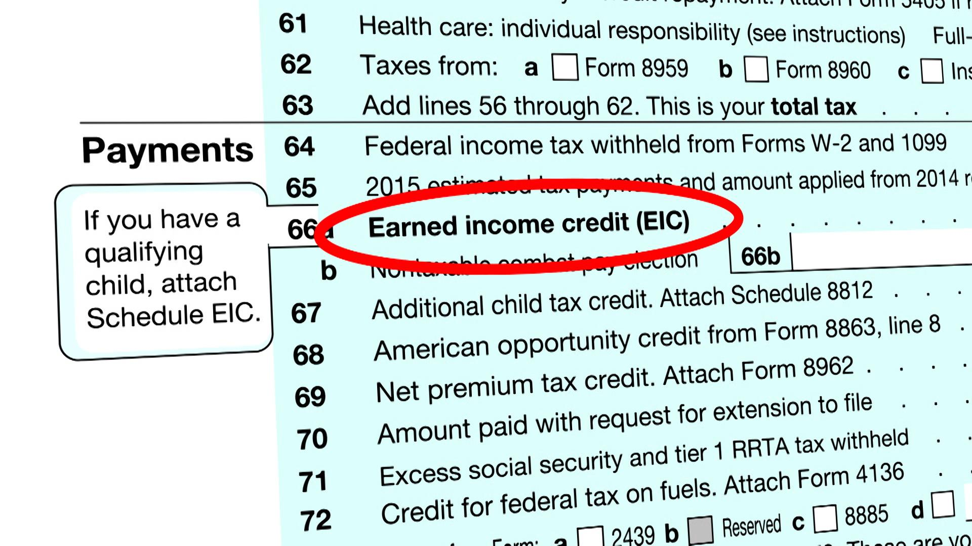 Claim the Earned Income Tax Credit Consumer Reports – Eic Worksheet