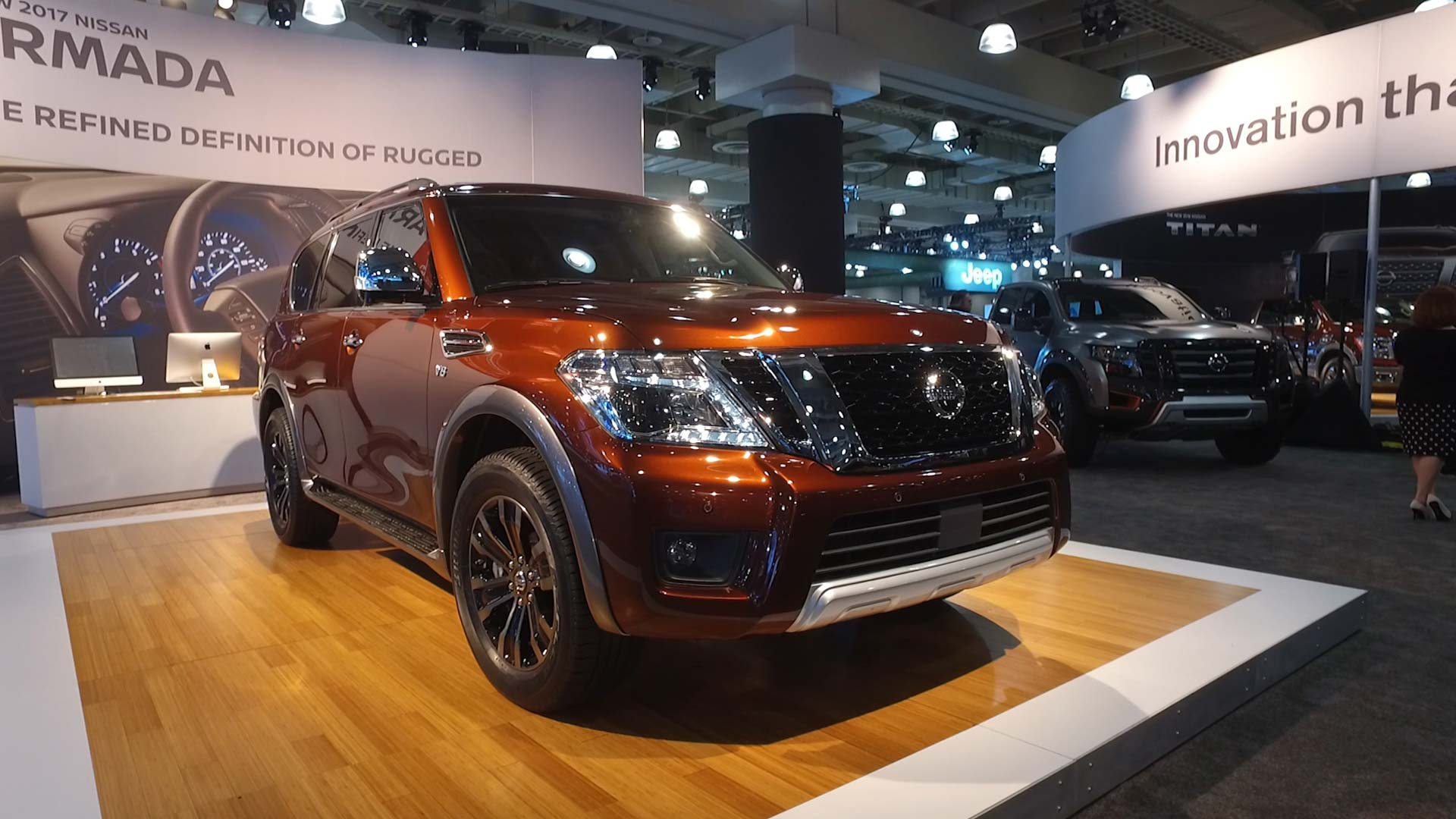Nissan Armada Towing Capacity >> Nissan Armada Redesign Moves Upscale