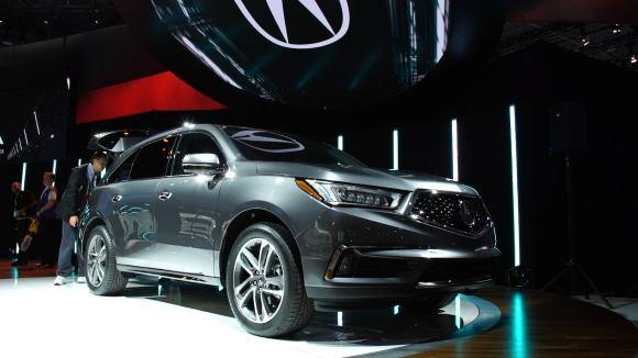 Updated Acura MDX Adds Safety Gear, Hybrid