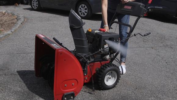 Smart Cleaning Tip #7: Stow Your Snow Blower!