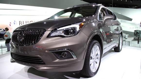 Buick Envision Joins Crowded Upscale SUV Market