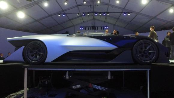 Faraday Uses Concept Car to Reveal its Real Plan