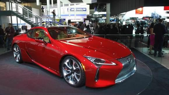 Lexus Goes Emotional with LC Coupe