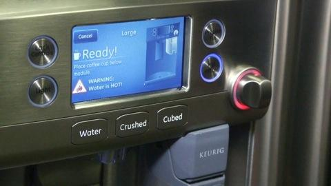 Refrigerator that Brews Coffee a 'Game-Changer'