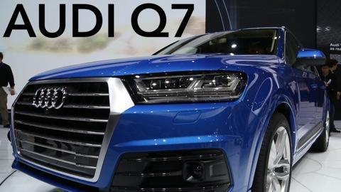 Luxurious Audi Q7 SUV Goes On A Diet