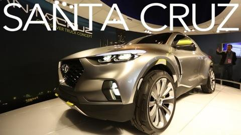 Hyundai Santa Cruz Concept: A Truck for City Folk?