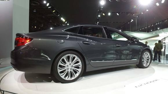 Buick LaCrosse Updates Brand's Traditional Big Sedan