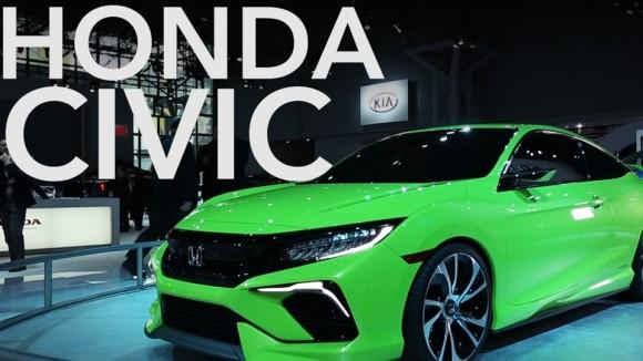 Honda Civic Concept focuses on performance, style