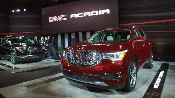 GMC Acadia Shrinks To Match Rivals