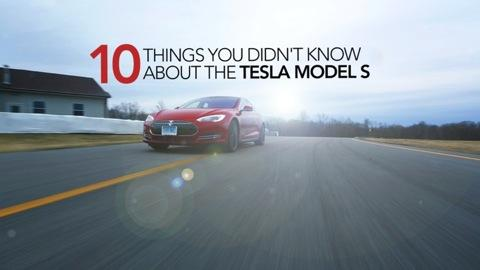 10 Things You Didn't Know About the Tesla Model S