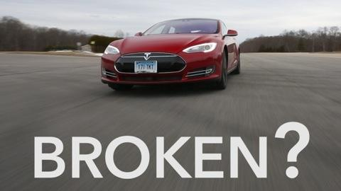 Our Tesla Model S P85D Breaks—Before Testing