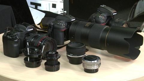 Talking Tech: Cameras and Lenses