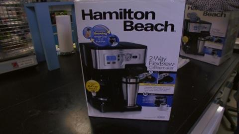Hamilton Beach coffeemaker burn risk