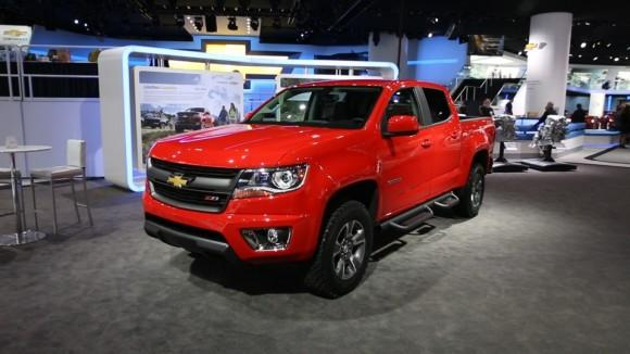 2015 Chevrolet Colorado/GMC Canyon at the Detroit Auto Show