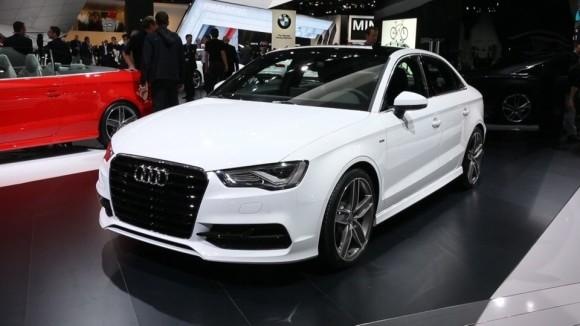 Audi A3/S3 at the Detroit Auto Show