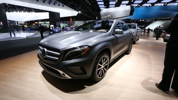2015 Mercedes-Benz GLA-Class at the Detroit Auto Show