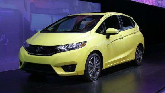 2015 Honda Fit at Detroit Auto Show