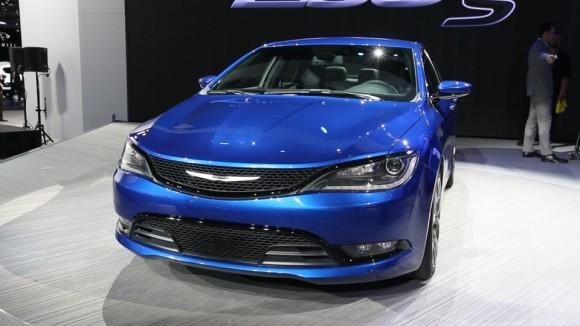 2015 Chrysler 200 at Detroit Auto Show