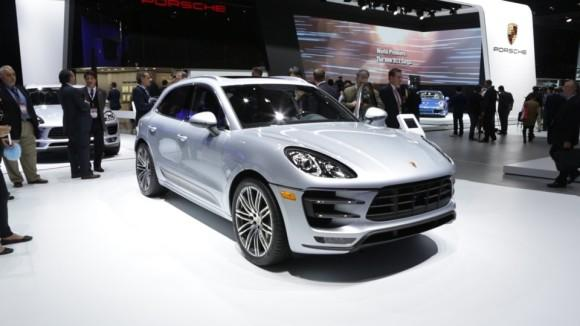 2015 Porsche Macan at the Detroit Auto Show