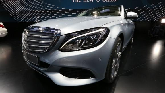 2015 Mercedes-Benz C-Class at Detroit Auto Show
