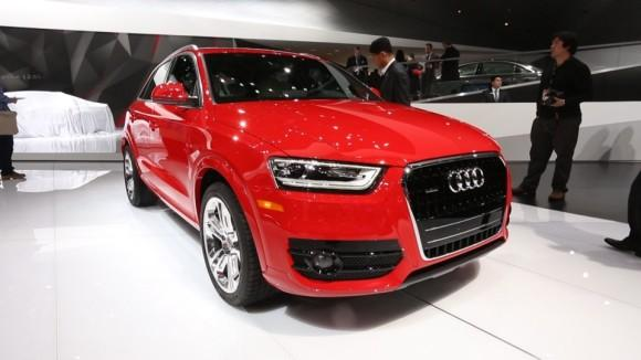Audi Q3 at the Detroit Auto Show