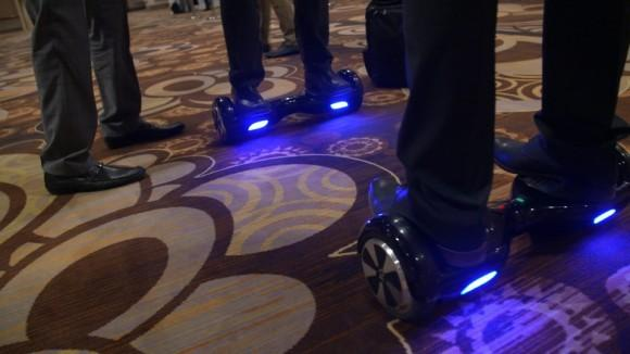 CES 2015: IO Hawk, the Segway's New Mini-Rival?