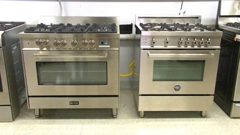 Italian Pro Style Ranges: Stainless Steals?