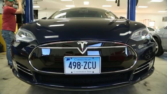 Tesla Model S Battery Fire Fix