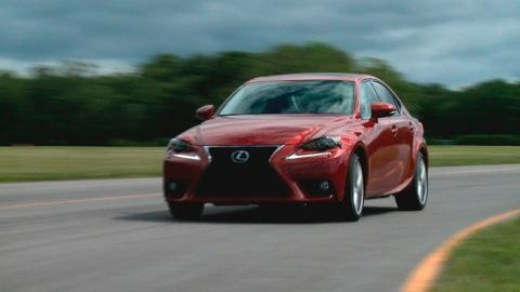 Lexus IS 2014-2015 Quick Drive