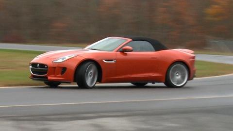 2014 Jaguar F-Type Quick Drive