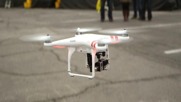 DJI Phantom 2 at CES 2014