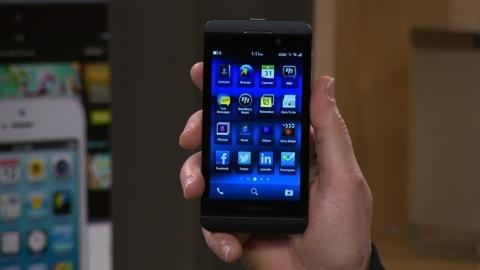 BlackBerry Z10 first look