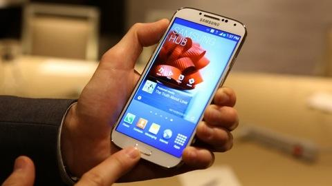 Samsung Galaxy S 4 first look