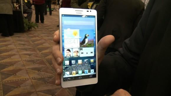 CES 2013: Huawei smart phones