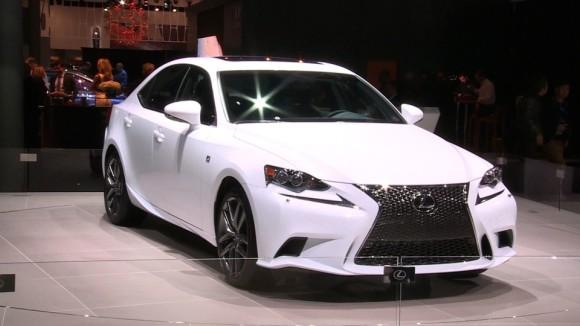 2014 Lexus IS at the NY Auto Show
