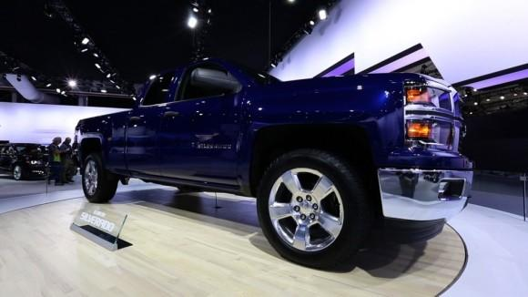 2014 Chevrolet Silverado at the NY Auto Show