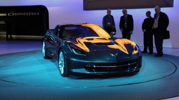 2014 Chevrolet Corvette Stingray at the NY Auto Show